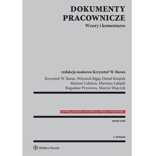 EBOOK Dokumenty pracownicze. Wzory i komentarze, Wolters Kluwer