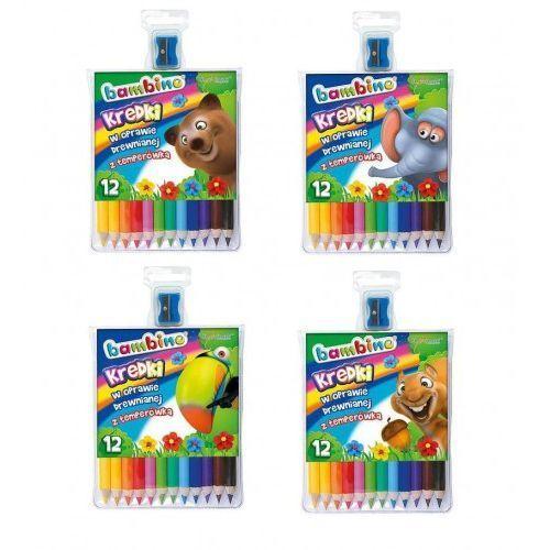 Kredki 12 kolorów bambino marki St-majewski