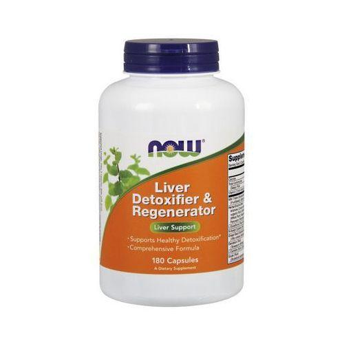 Kapsułki Now Foods Liver Detoxifier & Regenerator 180 kaps