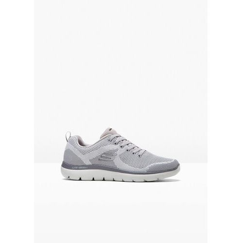 Sneakersy skechers jasnoszary melanż marki Bonprix