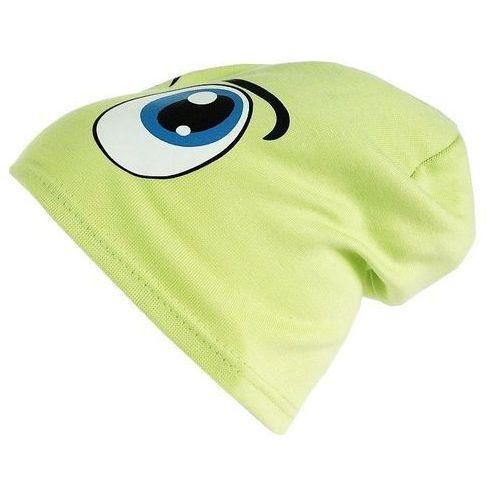 Czapka dziecięca bawełna oczy beanie krasnal ciamajda - cd06-5 marki Tara