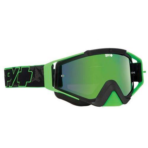 Gogle narciarskie omen mx green highlighter-smoke w/green spectra+clear afp Spy