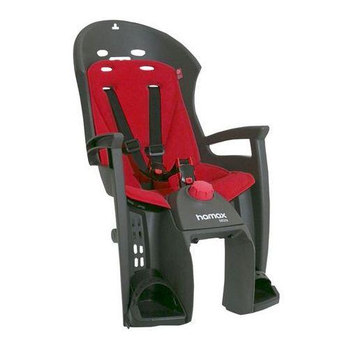 siesta fotelik dziecięcy bagażnik szary/czerwony 2018 mocowania fotelików marki Hamax