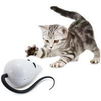 Ruchoma zabawka dla kota w kształcie myszy RoloRat