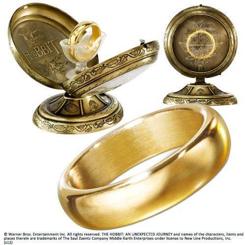 The noble collection Jedyny pierścień z filmu hobbit - the hobbit - hobbit one ring (nn1348)