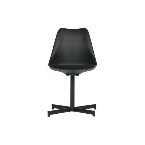 Woood Zestaw 2 krzeseł FLOW czarne 375790-Z, kolor czarny