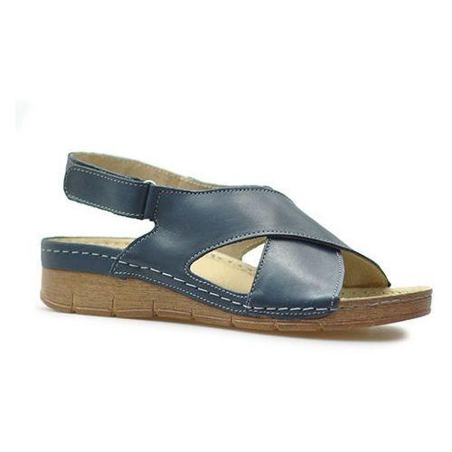 Sandały Helios 253 Granatowe