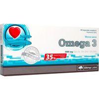Kapsułki Olimp Omega-3 1000mg 60 kapsułek (35% Omega 3) - Długi termin ważności! DARMOWA DOSTAWA OD 180 ZŁ! SZYBKA REALIZACJA ZAMÓWIENIA!