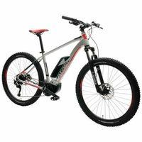 Rower elektryczny b-cross cx 500 m18 srebrno-czerwony darmowy transport marki Atala