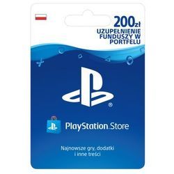 SONY PlayStation Network 200 zł
