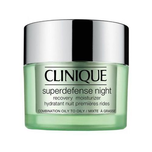 Superdefense night recovery moisturizer 3/4 (w) regenerujący krem na noc 50ml Clinique