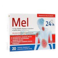 Tabletki MEL 7,5 mg 20 tabl.