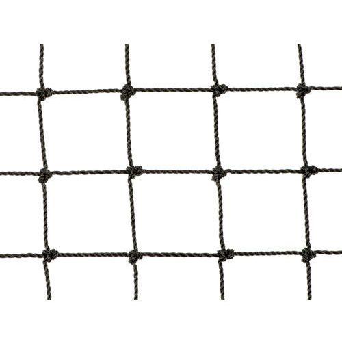 Czarna Siatka Wolierowa dla ptaków ozdobnych oko 25mm x 25mm.