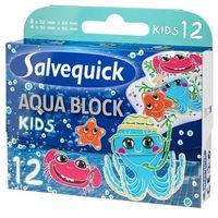 Cederroth Salvequick plastry aqua block kids x 12 sztuk