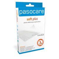 Care soft plus plaster włókninowy z opatrunkiem 1m x 8cm marki Paso
