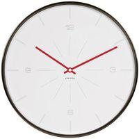 Zegar ścienny Thin Line Numbers Karlsson 40 cm, biały, kolor biały