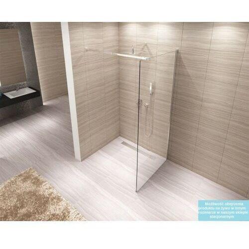 AERO Ścianka Walk-In 100x195, szkło transparentne + powłoka Easy Clean (5902557341429)