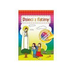 Dzieci z fatimy. kolorowanka z naklejkami marki Praca zbiorowa