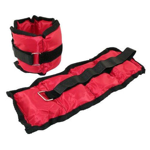 Ob03 - 17-6-129 - obciążniki na ręce i nogi 2 x 1,5 kg (czerwone) - czerwony Hms
