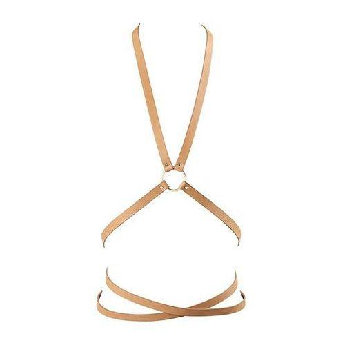 Uprząż - Bijoux Indiscrets Maze Multi Position Body Harness Brown