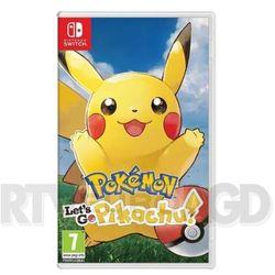Gra switch pokémon let's go pikachu! marki Nintendo