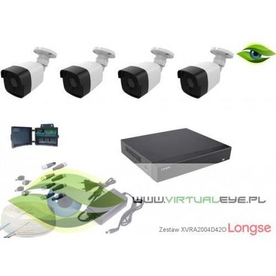 Zestawy monitoringowe Longse VirtualEYE