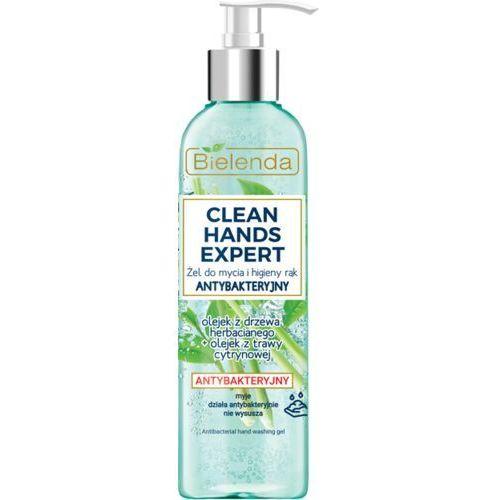 Bielenda clean hands expert żel do mycia i higieny rąk antybakteryjny pompka 200ml - Znakomity upust