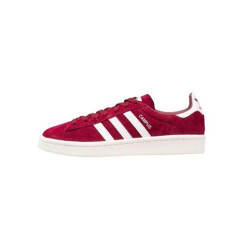 adidas Originals CAMPUS Tenisówki i Trampki collegiate burgundy/footwear white/chalk white, A-BZ0087-4513