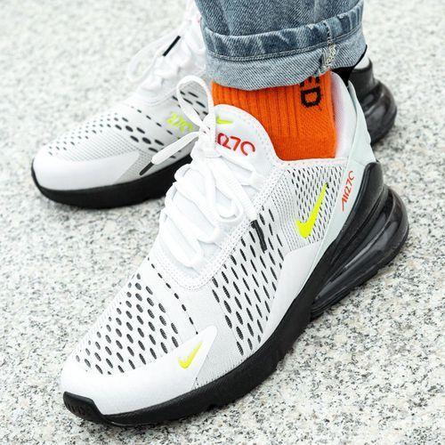 Nike Buty sportowe air max 270 gs (cj4581-100)