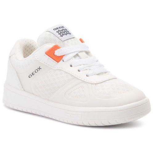 Geox Sneakersy - j kommodor b. b j925pb 01454 c1000 s white