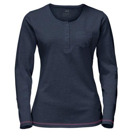 Jack wolfskin Koszulka essential longsleeve women - midnight blue