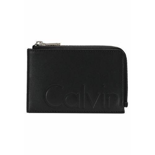 Calvin Klein Jeans CONTRAST CARDHOLDER ZIP Portfel black