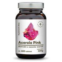 Tabletki AURA HERBALS ACEROLA PINK 120G, OKOŁO 480 TABL.