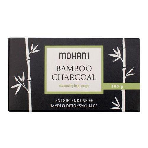 Mydło detoksykujące z aktywnym węglem bambusowym 100g Mohani - Super upust