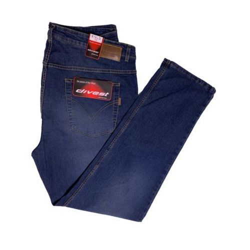 Divest spodnie długie jeansowe Model 545 106/34 Jeans Bawełna / Lycra
