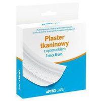 Synoptis pharma Apteo care plaster tkaninowy z opatrunkiem 1m x 8cm