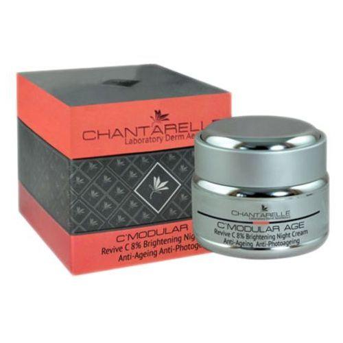 Chantarelle C'MODULAR AGE Odmładzająco-rozjaśniający krem na noc z 8% witaminą C