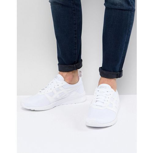 Asics gel lyte jogger trainers in white h7g1n-0101 - white