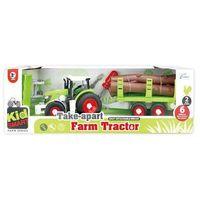 Traktor z przyczepą do skręcania (6901440106601)