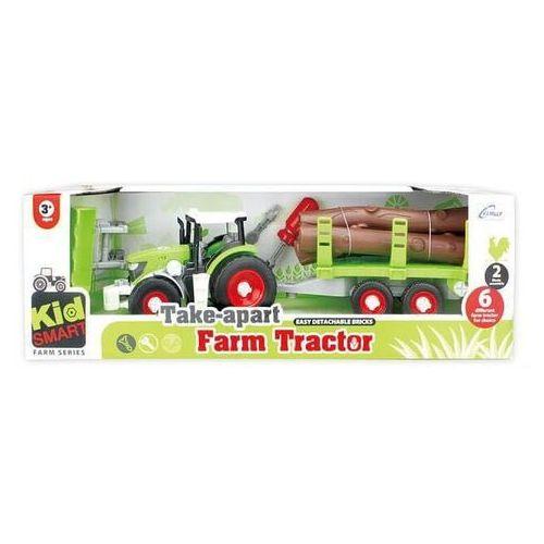 Traktor z przyczepą do skręcania - DARMOWA DOSTAWA OD 250 ZŁ!! (6901440106601)