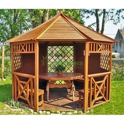 Altana ośmiokątna Halina śr. 3500 - produkt z kategorii- Altany i domki ogrodowe