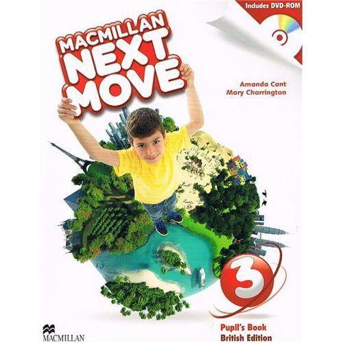 Macmillan Next Move 3. Podręcznik + DVD, Macmillan