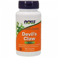 Kapsułki Devil's Claw (Diabelski Pazur), Now Foods, 100 kaps.