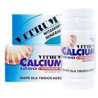 Vitrum Calcium 1250 + Vitamina D3, 120 tabletek - Długi termin ważności! DARMOWA DOSTAWA od 39,99zł do 2kg! (5903263900887)