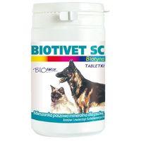 Biofaktor biotivet sc - preparat poprawiający zdrowie skóry dla psów i kotów 150tab.