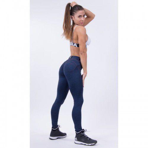 NEBBIA Spodnie BUBBLE BUTT PUSH UP N251 blue, N251