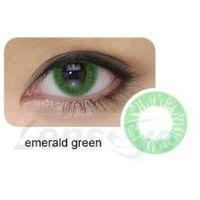 Cool Look, 2 szt. - 1-tone Emerald Green + gratis płyn