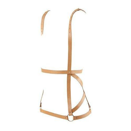 Bijoux indiscrets Sukienka z pasów - maze arrow dress harness brown
