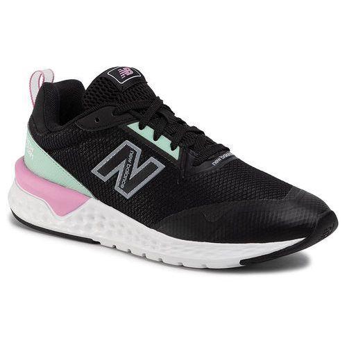 New balance Sneakersy - ws515ra2 czarny zielony