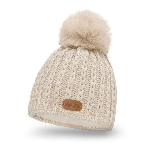 Pamami Zimowa czapka dziewczęca - beżowy - beżowy (5902934023863)